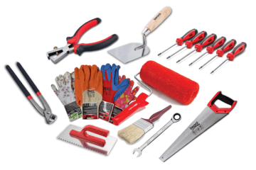 PAINTING TOOLS,  CONSTRUCTION TOOLS & SAFETY SHOES